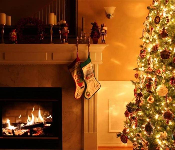 Fire Damage Preventing Tree Fires This Holiday Season